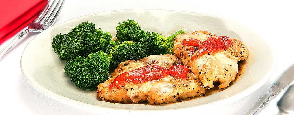 Try Our Signature Mouth Watering Asiago Chicken